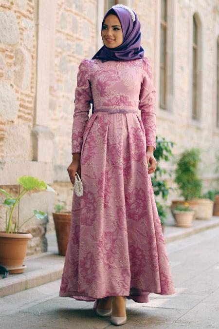 Mevra Gül Kurusu Kalya Abiye Elbise