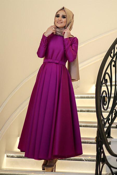 837d8501894a9 Minel Aşk Mor Beste Elbise Online Satış, İndirimli Satın Al