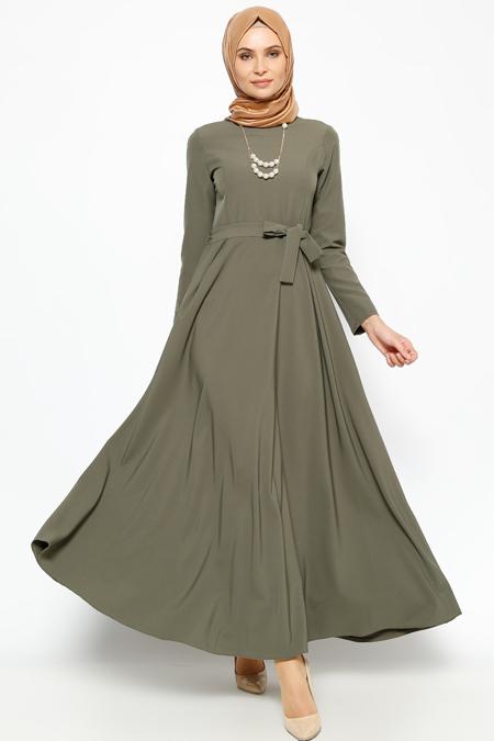 Jamila Haki Kolyeli Elbise