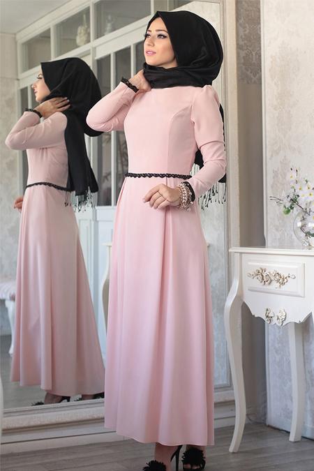 Lef`zen Pudra Hale Elbise