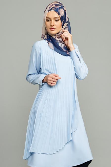 MİSS VAQA Bebe Mavisi Melisa Tunik