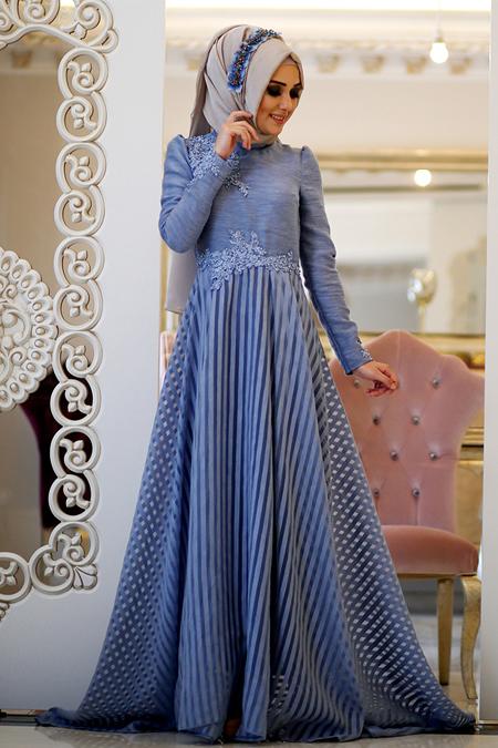 Minel Aşk İndigo Love Elbise