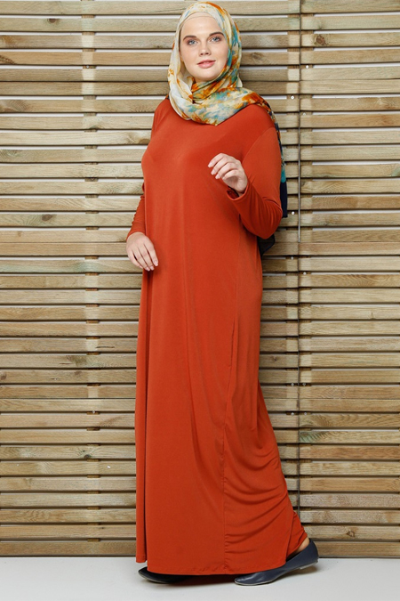 Alia Kiremit Basic Elbise