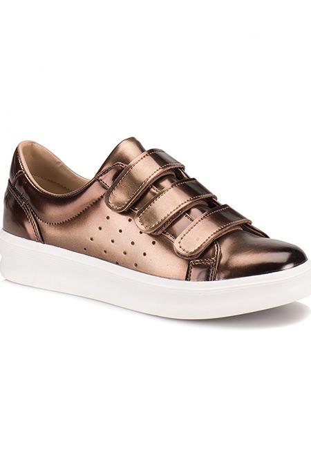 Flo Butigo Bronz Kadın Ayakkabı
