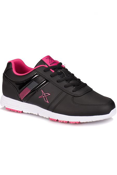 Kinetix Siyah Fuşya Kadın Sneaker