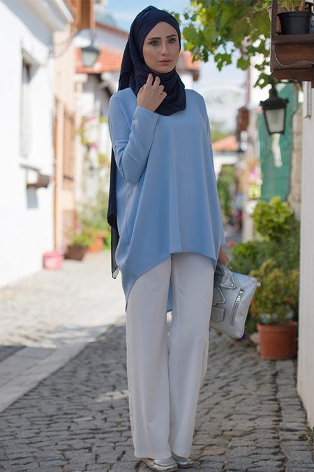 MİSS VAQA Bebe Mavi Adriana Tunik