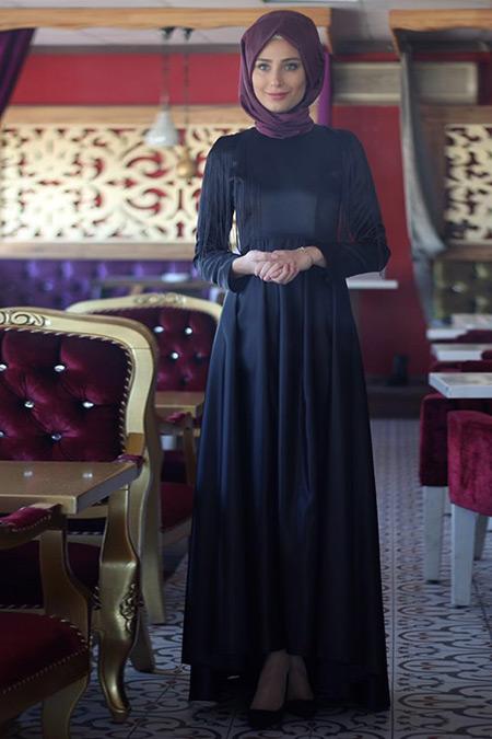 Nurbanu Kural Siyah Zümra Abiye Elbise