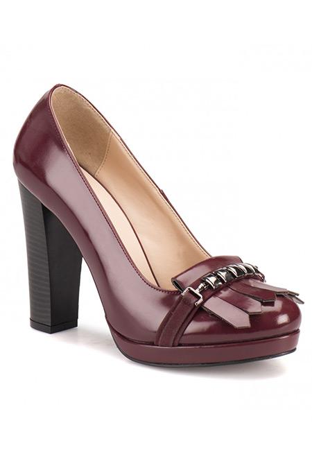 Flo Butigo Bordo Kadın Ayakkabı