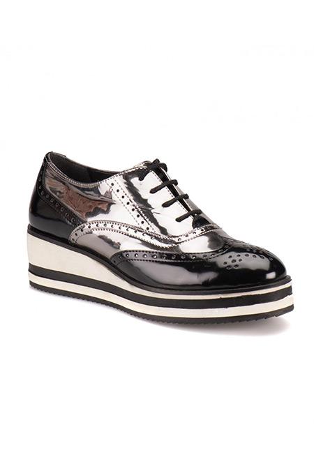 Flo Butigo Siyah Kadın Ayakkabı