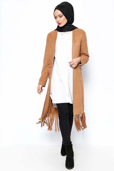 MİSS VAQA Camel Bella Ceket