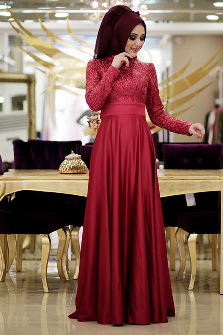 Minel Aşk Kırmızı Marry Elbise