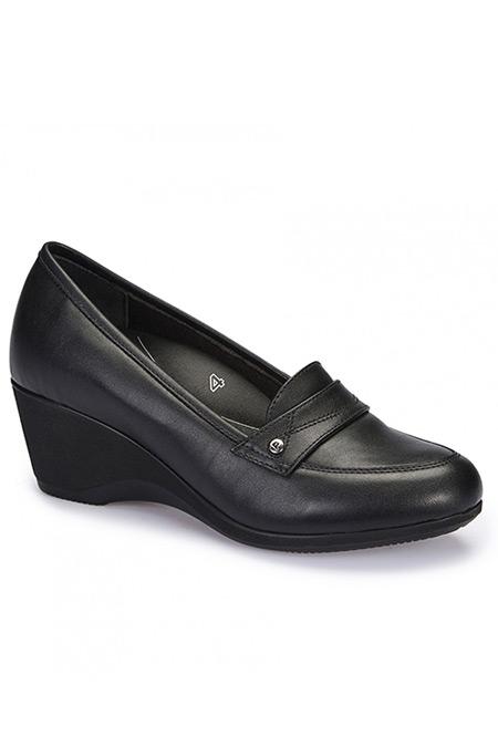 Polaris 5 Nokta Siyah Kadın Ayakkabı