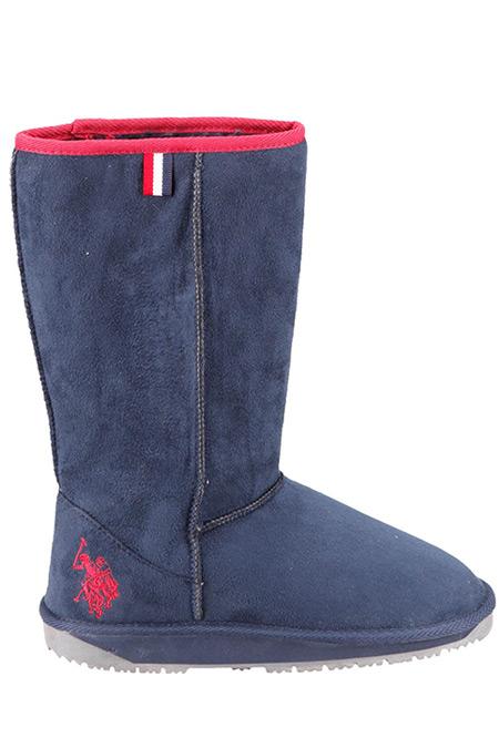 U.S. Polo Assn. Lacivert Kadın Çizme