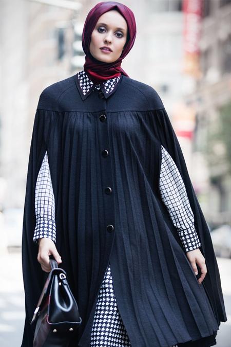 Kayra Siyah Piliseli Keçe Giy Çık