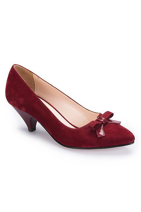 Polaris Bordo Kadın Ayakkabı
