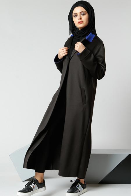 Refka Siyah Şal Yaka Ceket