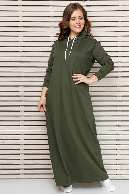 Alia Haki Spor Elbise