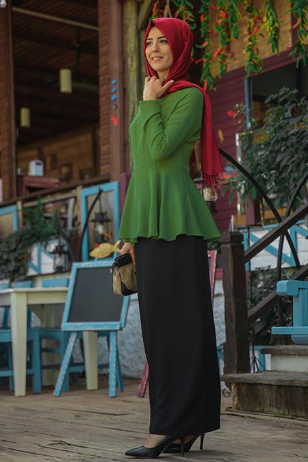 Nurkombin Yeşil Şimal Bluz