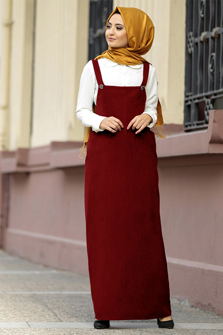 Puqqa Bordo Bella Elbise