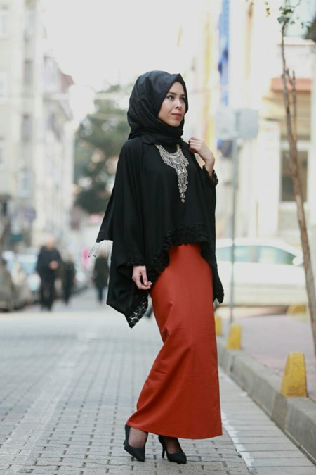 Elif ESER Abaya Bluz