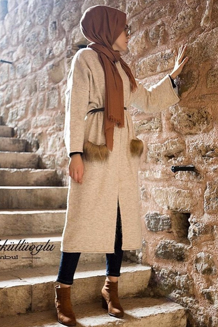Esra Keküllüoğlu Yün Kimono