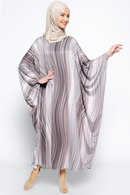Jaade Gri Salaş Elbise