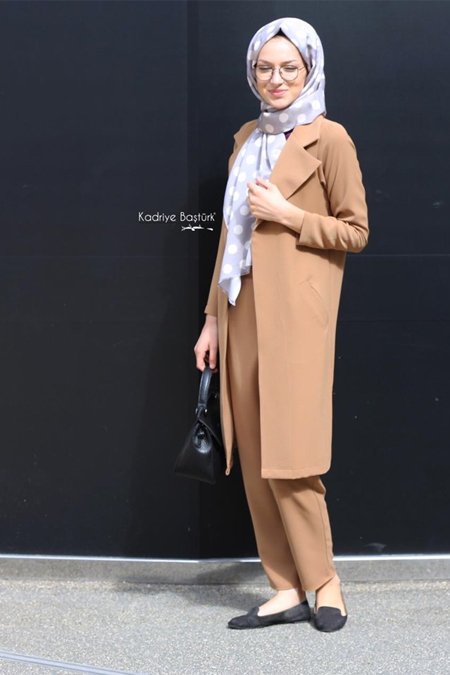 Kadriye Basturk Boyfrıend Ceket Şalvar Pantolon Takım