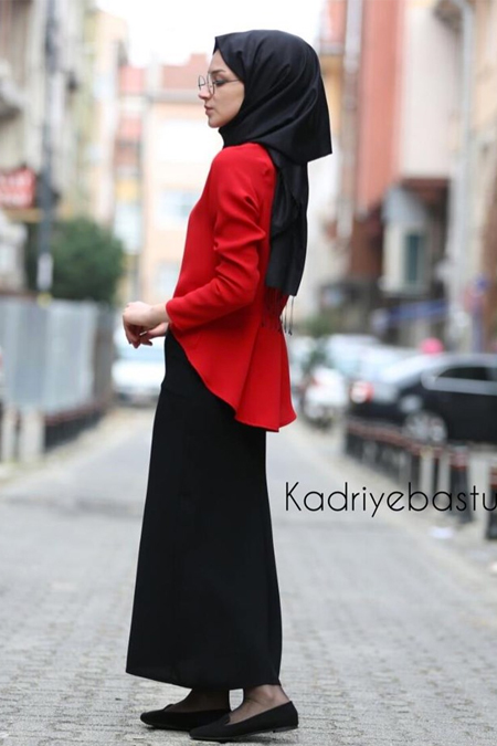 Kadriye Basturk Mini Prenses Bluz Etek Takım