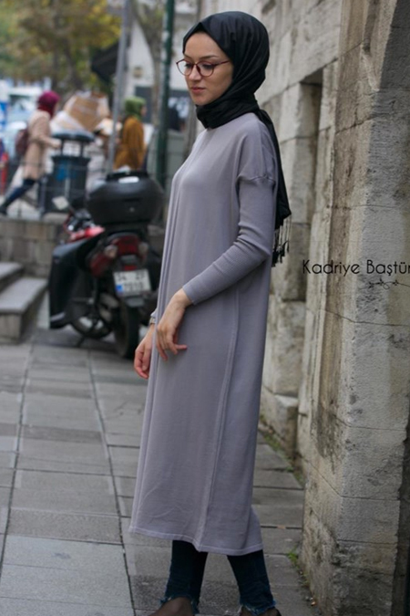 Kadriye Basturk Triko Basic Tunik
