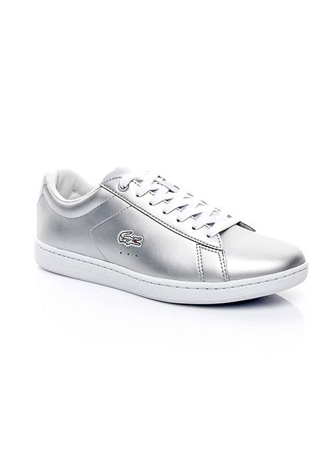 Lacoste Carnaby Evo Kadın Açık Gri Sneaker Ayakkabı