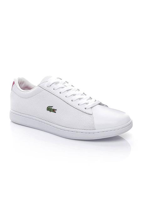 Lacoste Carnaby Evo Kadın Beyaz Sneaker Ayakkabı