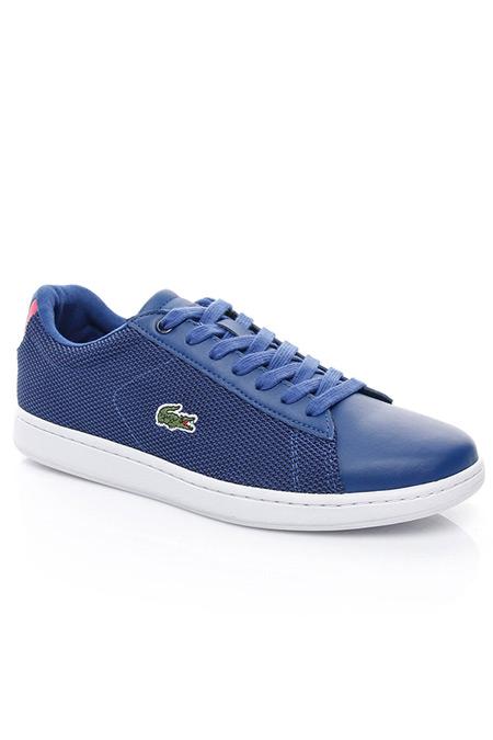 Lacoste Carnaby Evo Kadın Mavi Sneaker Ayakkabı