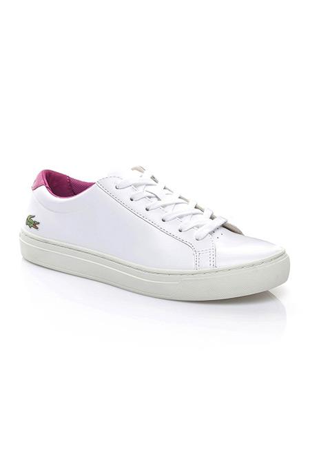Lacoste Kadın Beyaz-Mor Sneaker Ayakkabı