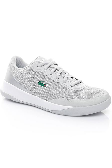 Lacoste Lt Spirit Kadın Açık Gri Sneaker Ayakkabı