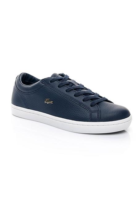 Lacoste Straightset Kadın Lacivert Sneaker Ayakkabı