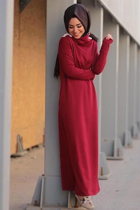 Missemramiss İki İplik Basic Elbise