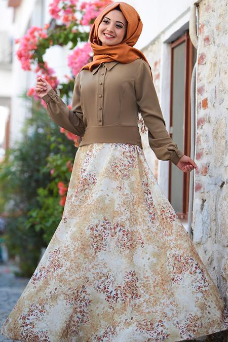 Puqqa Haki Eftelya Elbise