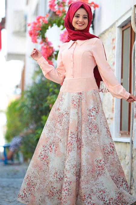 Puqqa Somon Eftelya Elbise