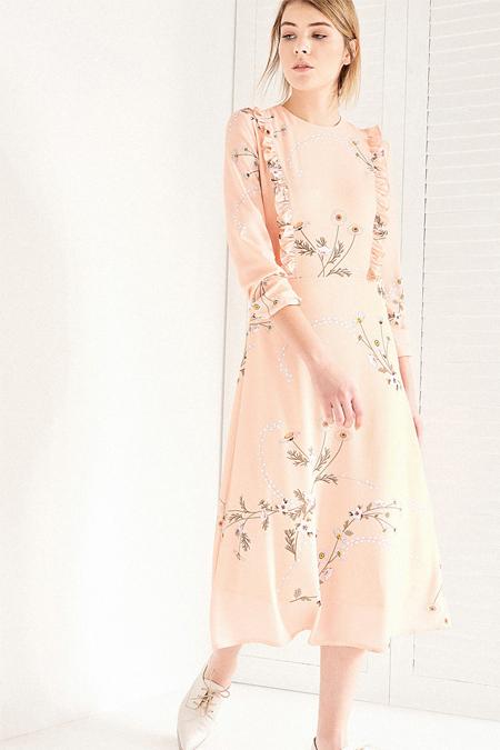 Vavist Somon Uzun Kol Elbise