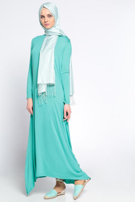 Everyday Basic Mint Salaş Elbise
