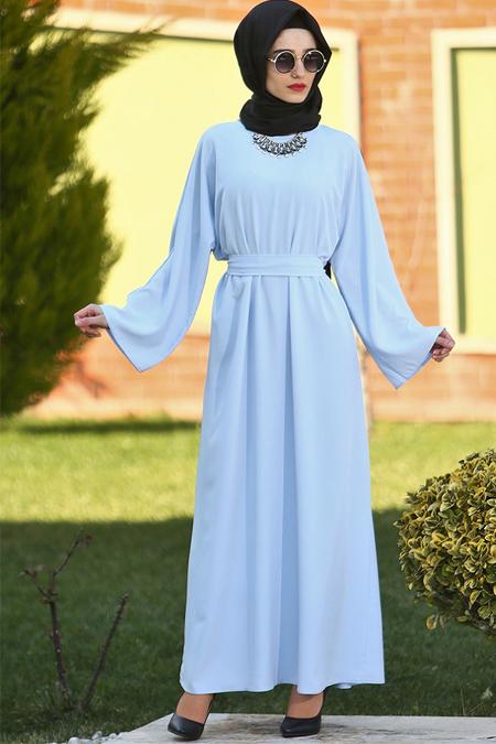 Gabra Mavi Ferace Elbise