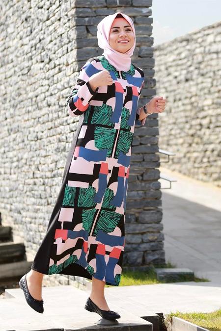 Missemramiss Geometrik Elbise