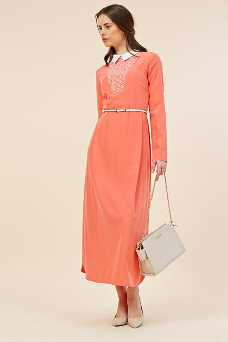 Kayra Mercan Lazer Desen Elbise