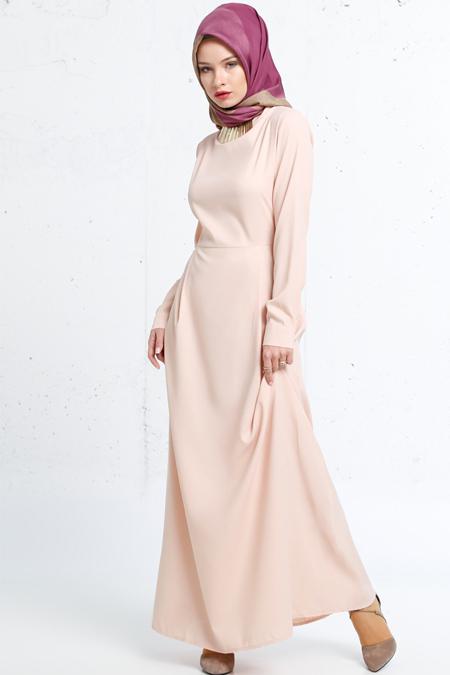 Refka Pudra Kolyeli Elbise