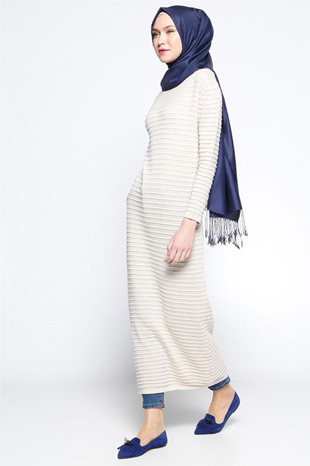 Zentoni Taş Triko Elbise