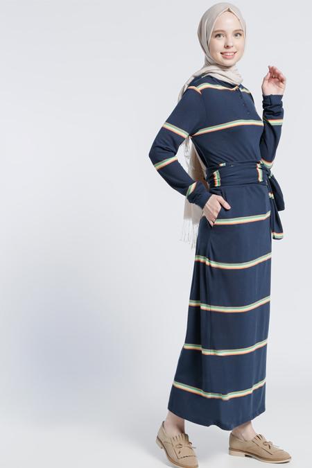 5c0721535dfce Benin Lacivert Kapüşonlu Spor Elbise Online Satış, İndirimli Satın Al