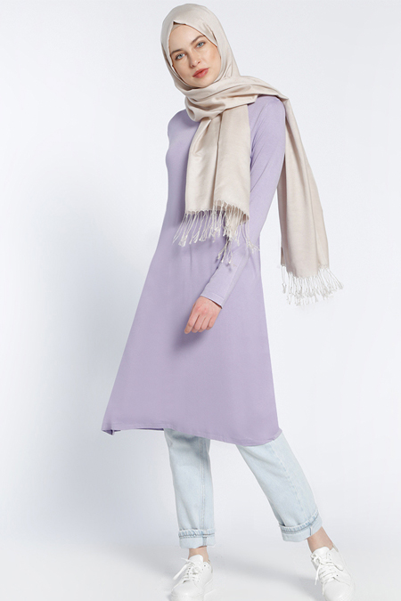 Everyday Basic Lila Ara Boy Basic Tunik