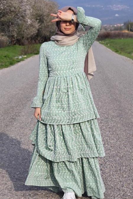 Fatma Sezen Çimen Elbise