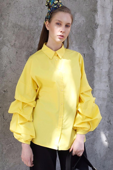 HOOOPSTORE Volanlı Gömlek