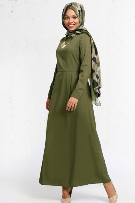 Refka Haki Kolyeli Elbise